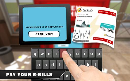 Bank Manager Cash Register: 3D Cashier Simulator for PC