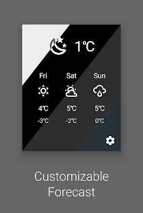 Weather Quick Settings Tile Screenshot