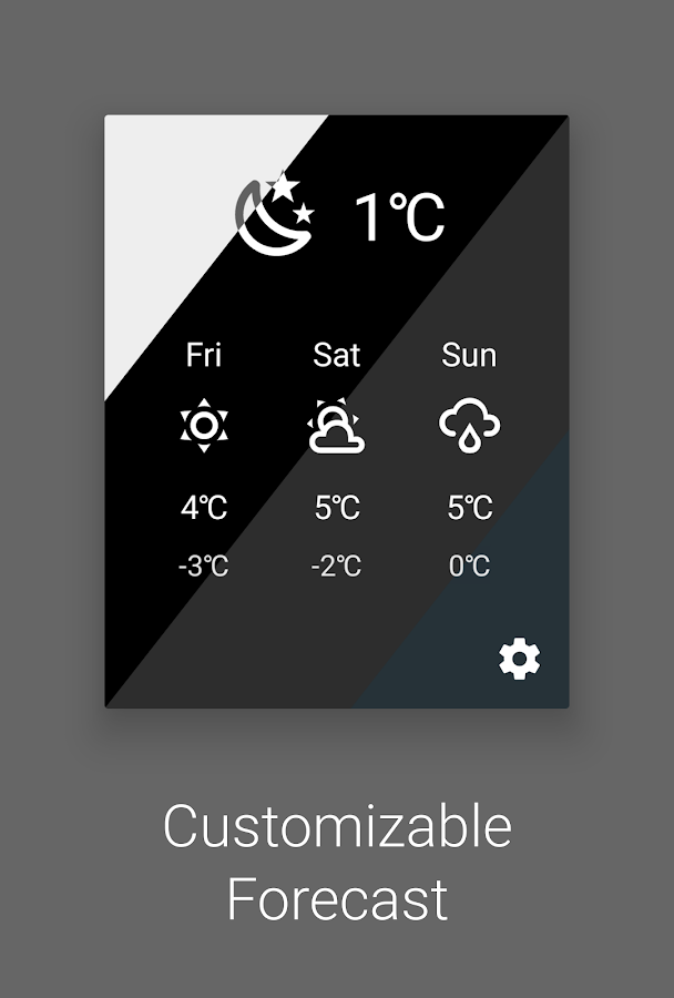 Weather Quick Settings Tile- screenshot