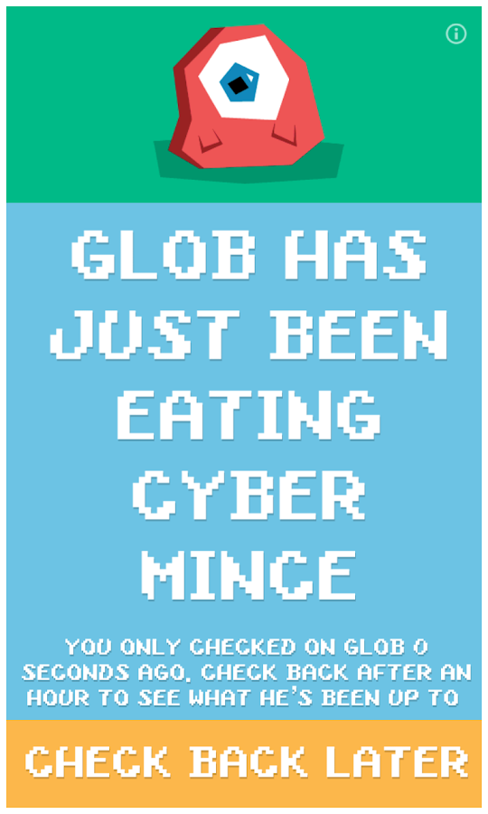 What's Glob been up to?- screenshot