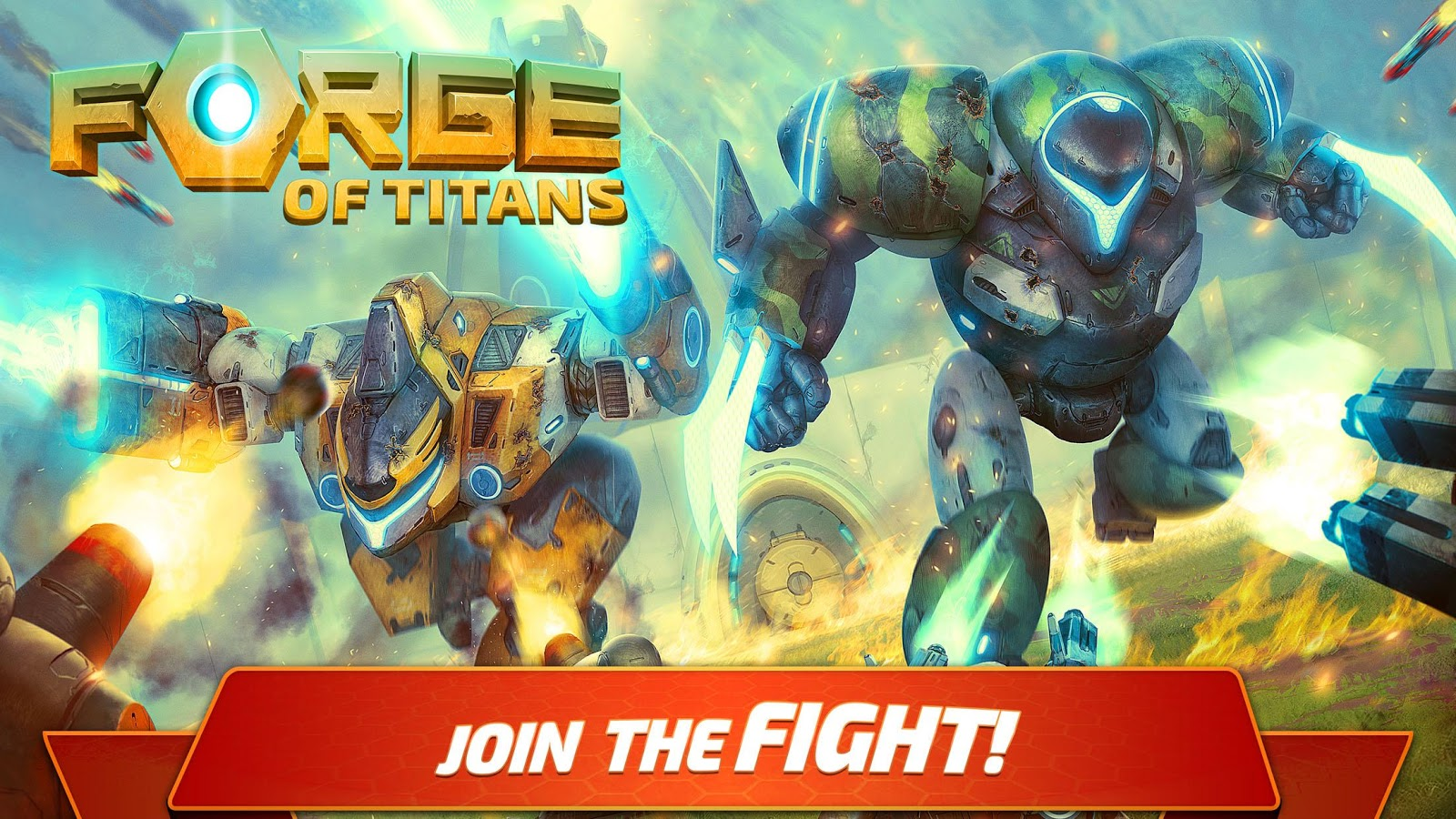 Forge of Titans: Mech Wars– captură de ecran