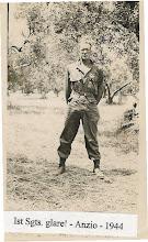 Photo: 1st Sgt Clif Hullinger Anzio Italy