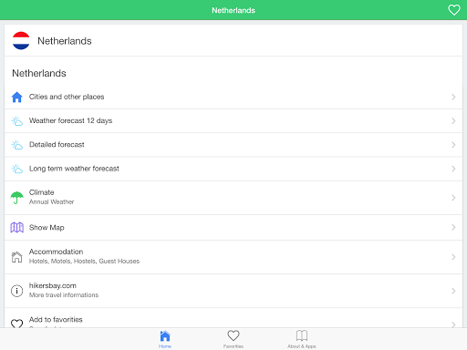 玩免費天氣APP|下載荷蘭天氣預報,引導旅客。 app不用錢|硬是要APP