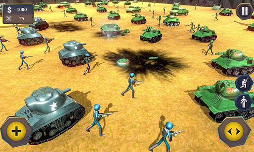 Battle Simulator World War 2 - Stickman Warriors 1.5 screenshots 4