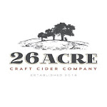 Logo for 26 Acres Craft Cider Company
