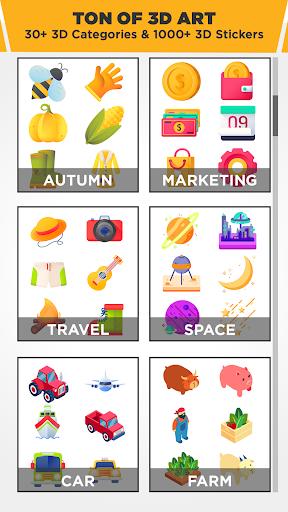 3D Logo Maker: Create 3D Logo and 3D Design Free 1.1.6 screenshots 1