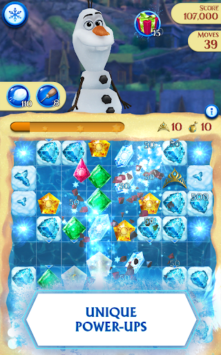 Disney Frozen Free Fall - Play Frozen Puzzle Games screenshot 9