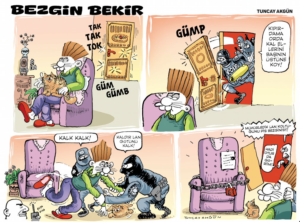 Satire In Turkey The Enclave Of The Indomitable Ahval