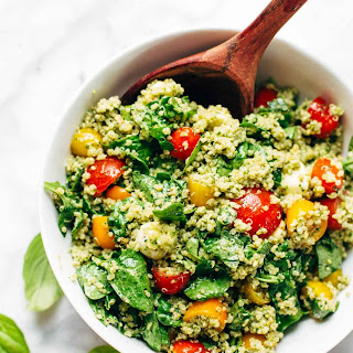 Green Goddess Quinoa Summer Salad Recipe
