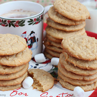 Chewy Coconut Peanut Butter Cookies.
