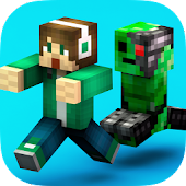 Crossy Creeper : Smashy Skins