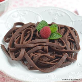 Chocoholic Chocolate Pasta.