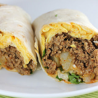 Chorizo and Egg Burrito