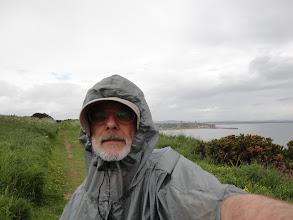 Photo: First rain of the whole hike