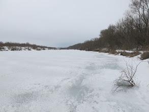 Photo: Один из участков прошли по льду!