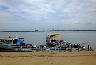 Photo: Ferries on the Mekong and Tonle Sap rivers