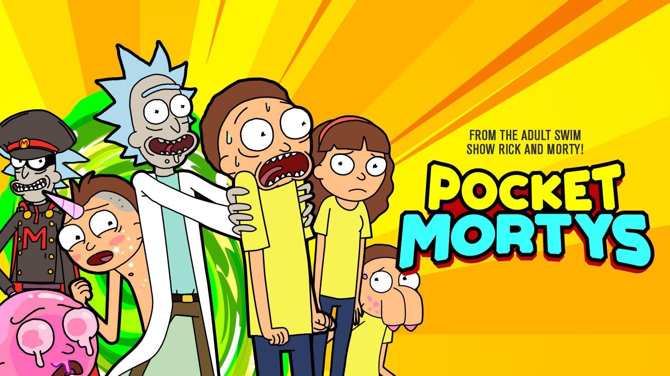 Pocket Mortys screenshot #1