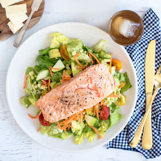 Lettuce Salad Salmon Recipes