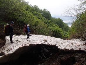 Photo: 深瀬沢の雪渓