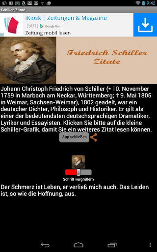 Schiller Zitate