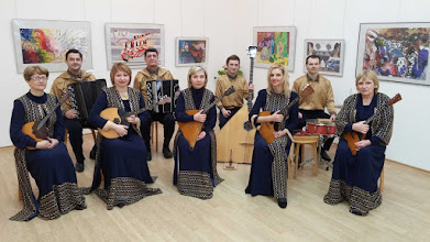 """Photo: Grand Prix of Internet Music Competitions from A. C. """"Melos"""" 2015 Group of folk instruments """"Contrast"""" (Vitebsk, Bielorussia)  The group was formed in 1999 from the teachers of the School of Arts of the city of Vitebsk.  Honorary title of """"People group"""" of the Republic of Belarus. Prizewinner of several international competitions. Wide concert activity."""