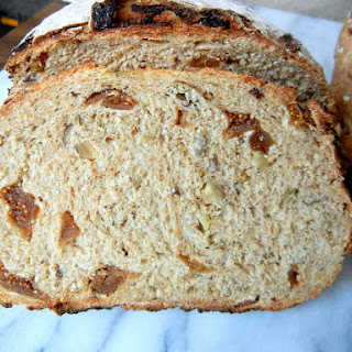 Hazelnut and Fig Bread with Fennel Seeds and Rosemary