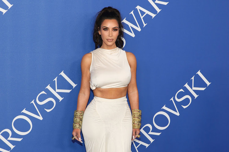 Kim Kardashian attends the 2018 CFDA Awards in New York City on June 4 2018.