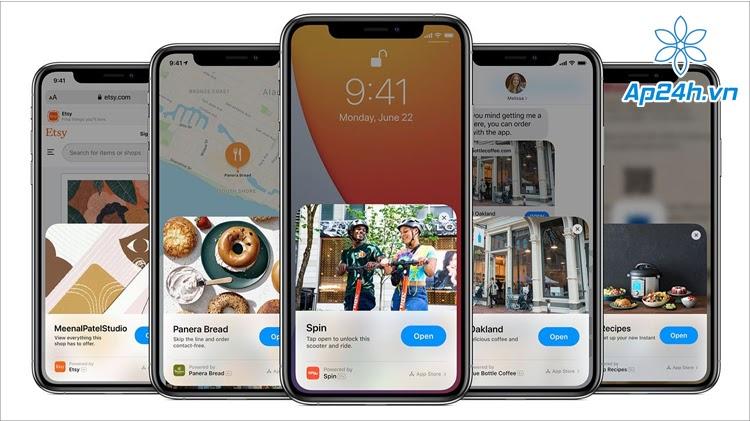 Tùy chọn tự thanh toán mới trên App Clips