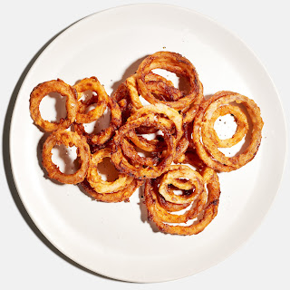 Brown Butter–Fried Onion Rings.