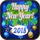 Happy New Year Greetings 2018 icon