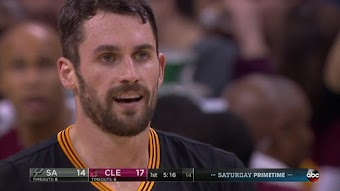 San Antonio Spurs at Cleveland Cavaliers from 01/21/2017