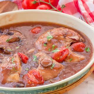 Crockpot Chicken Marsala.