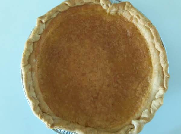 Your Pie Will Look Like A Lemon Pie With A Little Crust On Top Of Pie.  My Pie Crust Did Not Set Right In My Pie Tin And It Is Not Pretty.  But It Is Delicious.  Refrigerate Un-eaten Pie.
