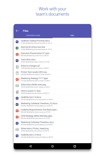 Microsoft Teams  screenshots 9