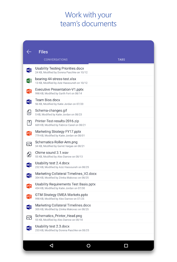 Microsoft Teams- screenshot