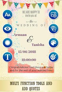 Wedding card maker wedding invitation maker apps on google play screenshot image stopboris Choice Image