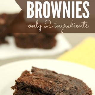 Diet Coke Brownies.