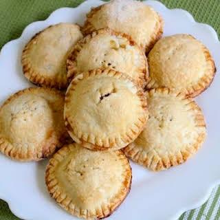 Individual Gluten-Free Apple Pie.