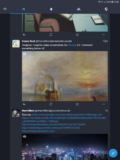 Tusky for Mastodon screenshot 10