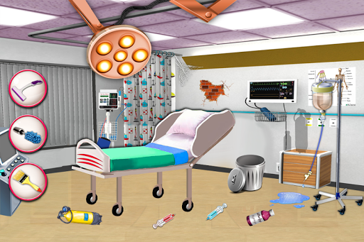 無料休闲Appの病院はゲームをクリーンアップ 記事Game