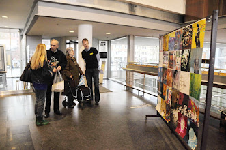 Photo: The Human Rights Flag Centre Céramique 31 March Maastricht The Netherlands: the show