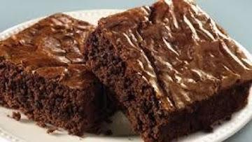 Delicious Fat-free Healthy Fudgy Brownies My Way Recipe