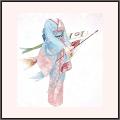 鯉と清流(青)