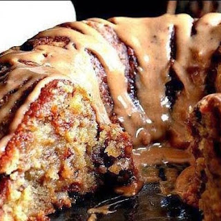 Brown Sugar Carmel Pound Cake