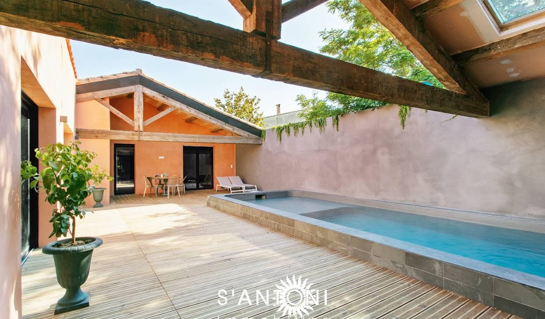 Maison avec piscine et terrasse Villeneuve-lès-Béziers