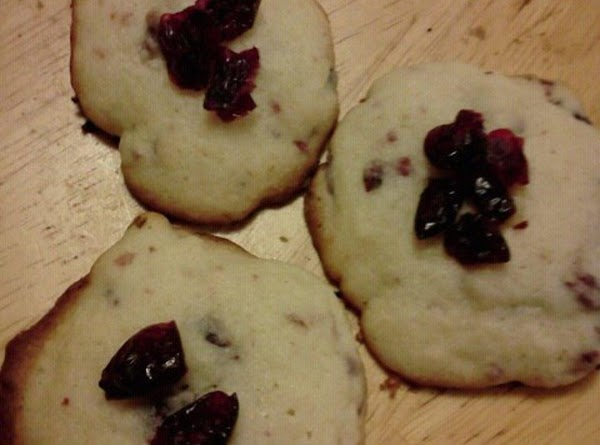 Sugary Dried Cranberry Cookies Recipe