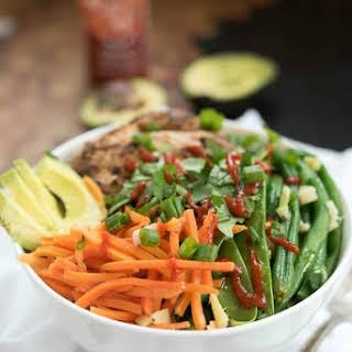 Asian Chicken Quinoa Bowl.