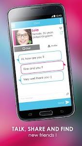 Amitié : chat, friend, dating screenshot 2