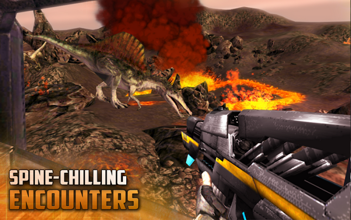 DINO GUNSHIP: Hunter Pro- screenshot