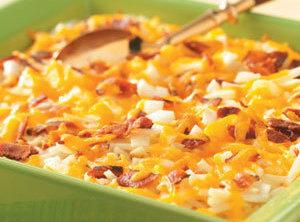 Cheesy Hash Brown Potato Casserole Recipe